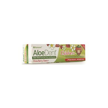 Aloe Dent Children's Strawberry Toothpaste - Fluoride Free