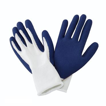 Natural Bamboo Gloves - Navy Men's Medium