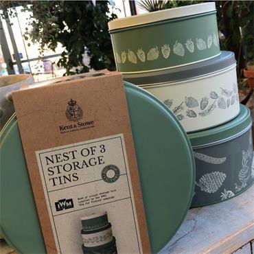 KS DFV Nest of Storage Tins