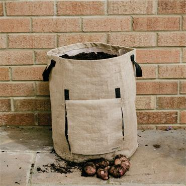 Jute Potato Planter Bag