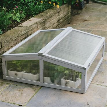 Grow It Wooden Cold Frame - Dove Grey