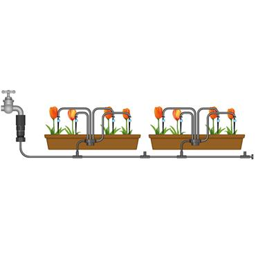 Flopro Plug & Go Watering: Pots & Containers Watering Kit