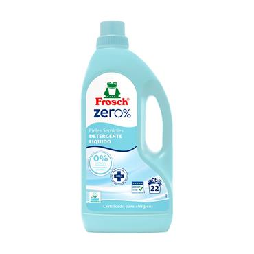 Frosch Zero % Sensitive Liquid Detergent - 1.5 Ltr