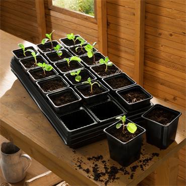 Gardman Growing Tray 18 Pot Square