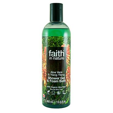 Faith in Nature - Aloe Vera & Ylang Ylang Shower Gel / Foam Bath