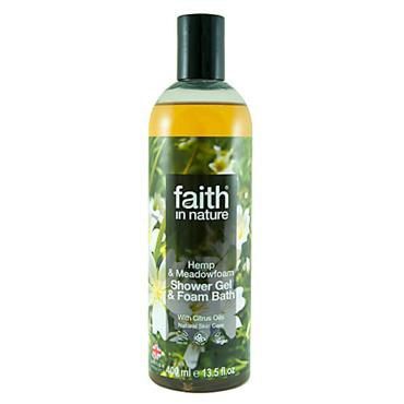Faith in Nature - Hemp & Meadowfoam Shower Gel / Foam Bath