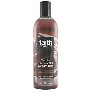 Faith in Nature - Chocolate Shower Gel / Foam Bath