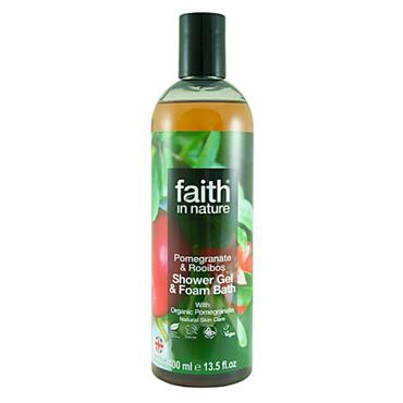Faith in Nature - Pomegranate & Rooibos Shower Gel/Foam Bath
