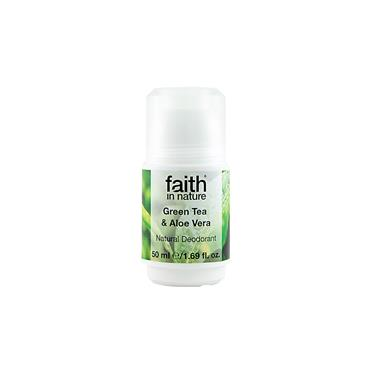 Faith in Nature - Roll-On Deodorant Aloe Vera & Green Tea