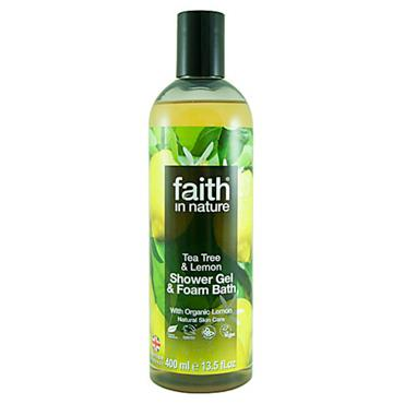 Faith in Nature - Lemon & Tea Tree Shower Gel/Foam Bath