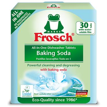 Frosch Baking Soda All-in-One Dishwasher Tablets 30 Pack