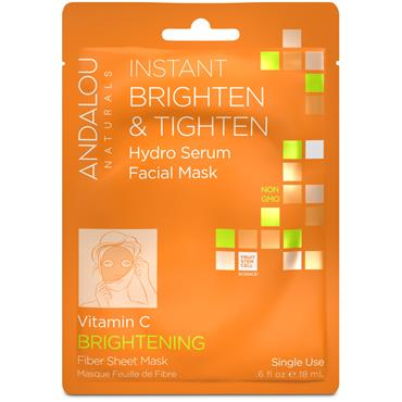 Instant Brighten & Tighten Hydro Serum Face Mask