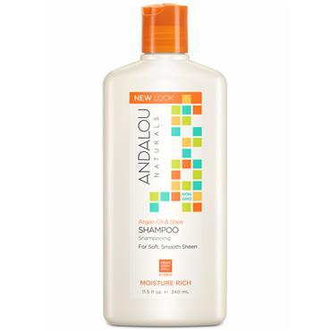 Argan Oil & Shea Moisture Rich Shampoo 340ml