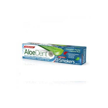 Aloe Dent Smokers Toothpaste