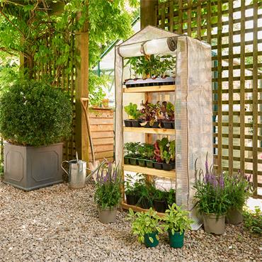 Guardian Premium Wood Growhouse 4 Tier