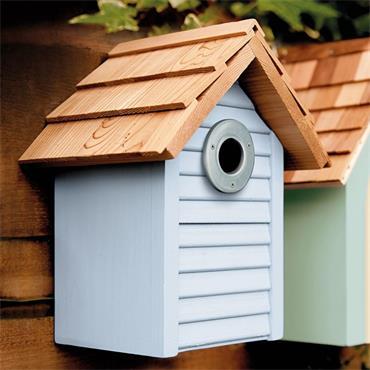 Gardman Beach Hut Nest Box- Blue