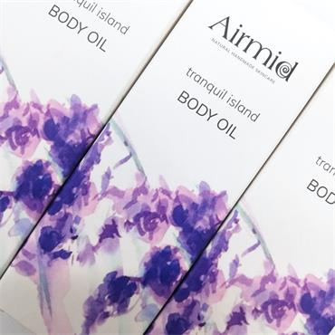 Airmid Botanical Body Oil - Tranquil island