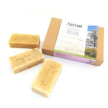Airmid Burren Irish Soap Selection