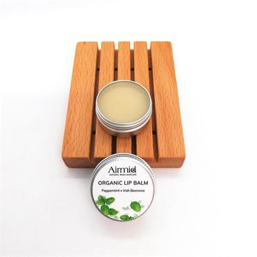 Airmid Irish Beeswax Lip Balm - Organic Peppermint