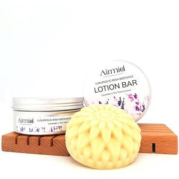 Airmid Lavender Solid Lotion Bar
