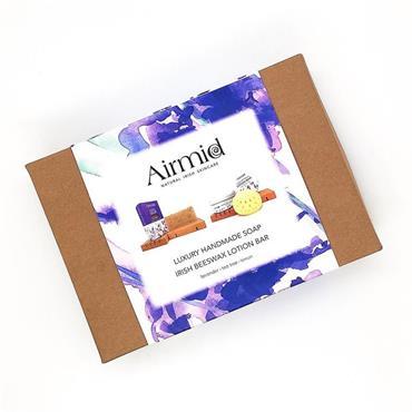 Airmid Lavender Soap & Lotion Bar Set