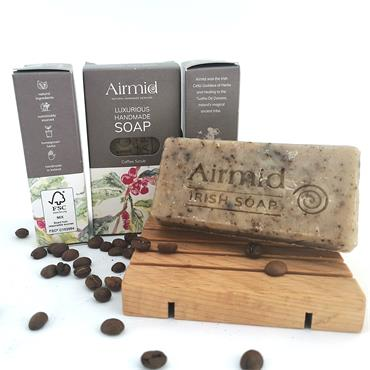 Airmid Irish Handmade Coffee Scrub