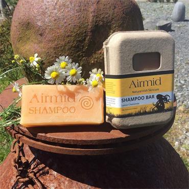 Airmid Lemon Chamomile Shampoo Bar