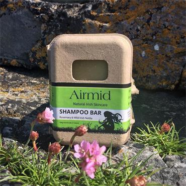 Airmid Rosemary - Wild Irish Nettle Shampoo Bar