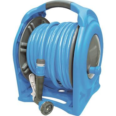 Aquacraft 2 in 1 Portable 15m Hose Reel Set