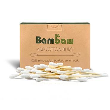 Bambaw Cotton Buds Box 400