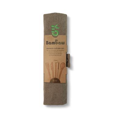 Bambaw Cutlery Set Olive