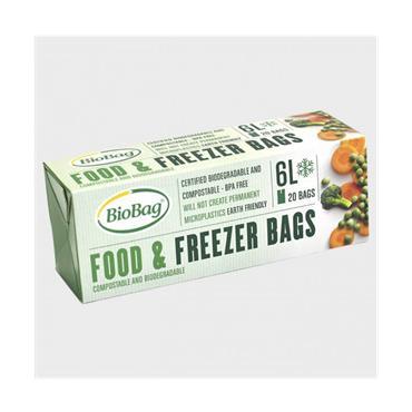 Food & Freezer Bags 6 litre