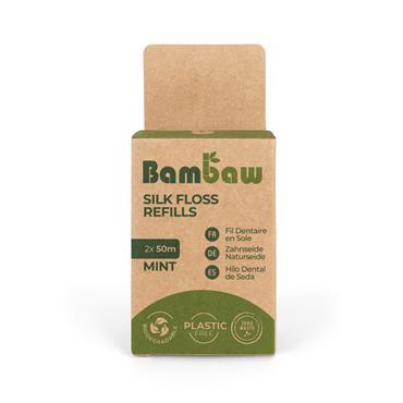 Bambaw Floss Refill 2x50m Silk