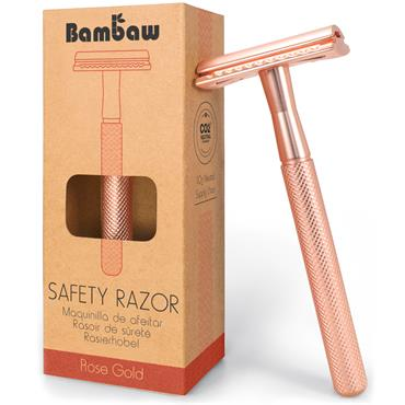 Bambaw Metal Razor Rose Gold