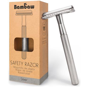 Bambaw Metal Razor Silver
