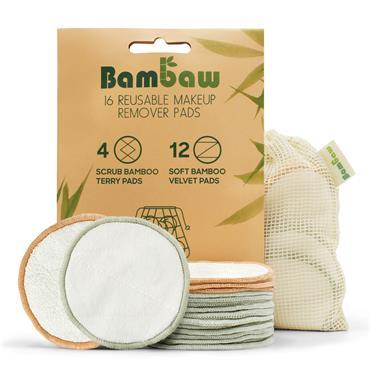 Bambaw Pack 16 Reusable Make-Up Pads