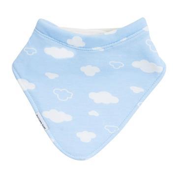 Autumn Baby Bib (Baby Clouds)