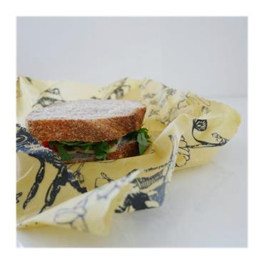 Beeswax Food Wraps Lunch pack (3 x large wraps)