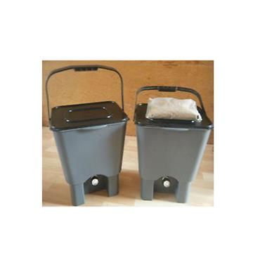 EM Agriton Bokashi Kitchen Composter - Twin Pack