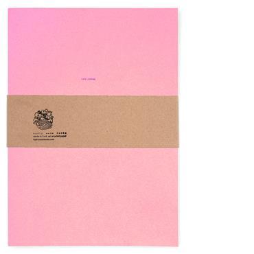 Badly Made Books Pink Sketchbook A4