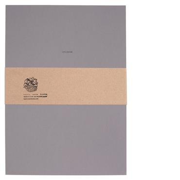Badly Made Books Grey Sketchbook A4