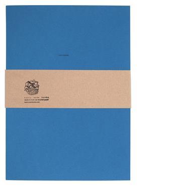 Badly Made Books Blue Sketchbook A4