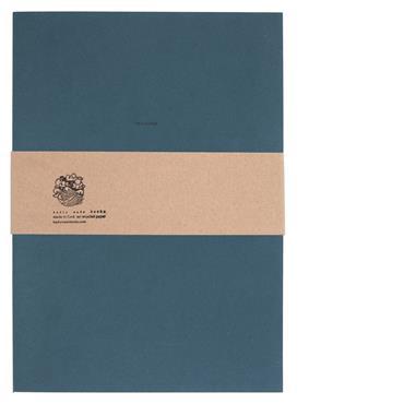 Badly Made Books Navy Sketchbook A4