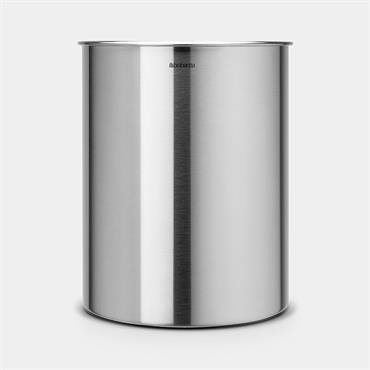 Brabantia Waste Paper Bin 15 ltr Matt Steel - 2 Pack