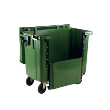 Customized 660 Litre Wheelie Bin