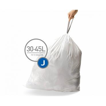 Simple Human J bin liners