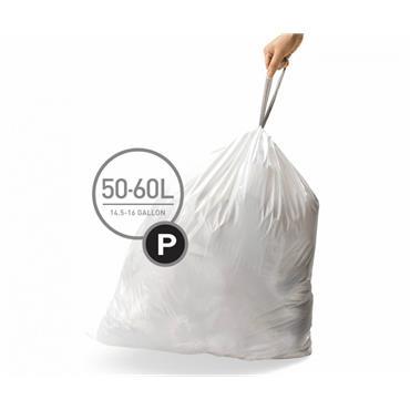 Simple Human P bin liners