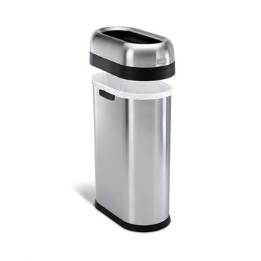 Simple Human 50 litre slim open can