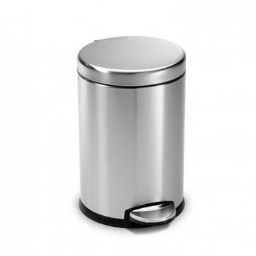 Simple Human 4.5L Mini Round Pedal Bin - Steel