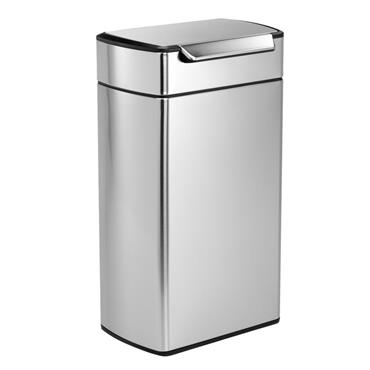 Simplehuman kitchen touch bar bin 40L